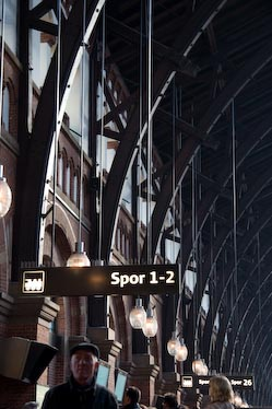 Copenhagen train station by Anatol Just
