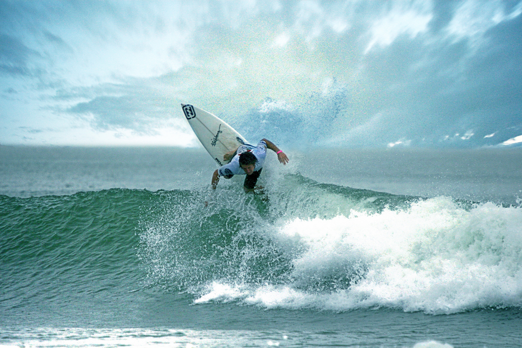 Anatol Just - RipCurl Pro Surf competition Hossegor