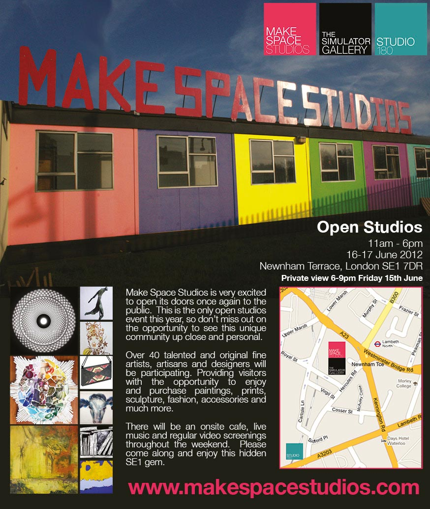 MakeSpace Open Studios June2012